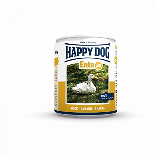 Bild: Happy Dog 2746 Ente Pur 400 g 12er pack