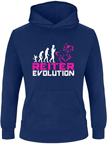 EZYshirt® Reiter Evolution Kinder Hoodie