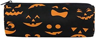 Halloween Funny Pumpkin Trousse Sac pochette pour enfants garçons filles étudiant d'école avec fermeture à glissière ronde Maquillage Sac B07HP1YNXJ | Nouvelle Arrivée