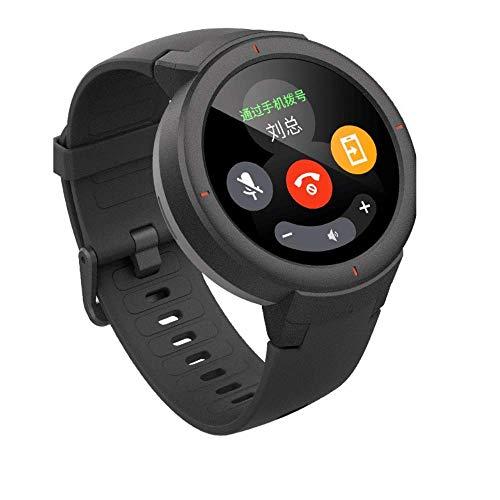 Amazfit Verge Xiaomi Smartwatch Deportivo - Reloj Deportivo GPS | Sensor de Frecuencia Cardíaca | IP68:Resistencia al Agua | Reproduce Música | Gris (Versión Internacional) iOS-Android (Reacondicionado)