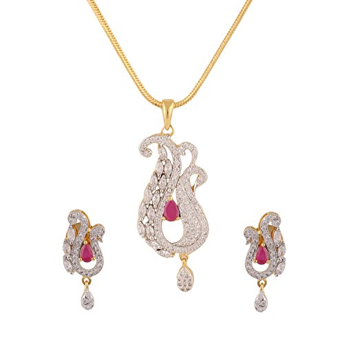 swasti-jewels-womens-american-diamond-cz-traditional-fashion-jewellery-set-pendant-earrings-gold