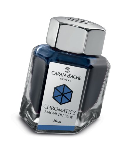 Caran d´Ache 8011.149 Tinten und Refills Tintenfass Magnetic 50 ml Blau