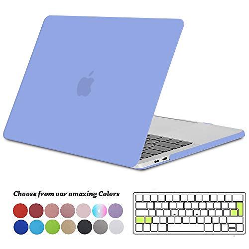Tecool Funda MacBook Pro 13 2016/2017/2018, Plástico Duro Case Carcasa con Tapa del...