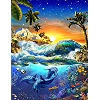 SIGNS 2 ALL l3134mgl hawaiano amanecer Fine Wall Art Nostalgic Retro de Metal pared publicidad placa decorativa