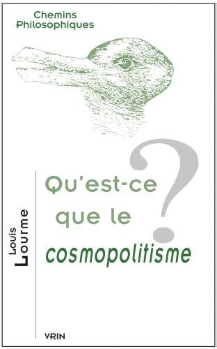 Qu'est-ce que le cosmopolitisme?