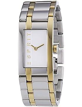 Esprit Damen-Armbanduhr LA Houston Analog Quarz Edelstahl ES000J42084