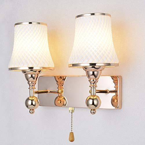 Lámpara Pared Dormitorio Pasillo Europeo Moderno De La Sala Paredsimple Cabeza Cama Y Doble Creativo Estar A Simple Junto TFc5ulJ3K1
