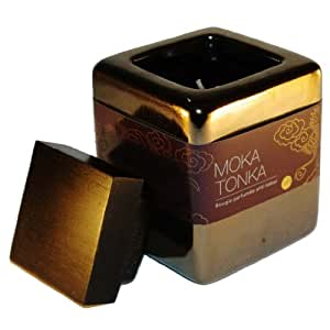 Bougies La Francaise - Bougie Lounge Pot Céramique - Moka Tonka