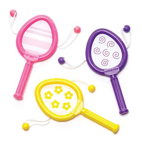 Baker ross giocattoli sonori con uova di pasqua (confezione da 6) - da inserire in buste regalo pasquali o come regalini per bambini