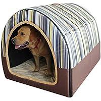 Casa De Perro, Grande Tipo De Arco Perrito Casa De La Cama Plegable Calentar Nido
