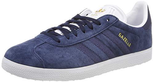 adidas Damen Gazelle W Gymnastikschuhe, Blau (Collegiate Navy/FTWR White), 40 EU (6.5 UK)