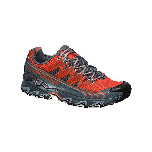 La Sportiva Ultra Raptor, Zapatillas de Trail Running para Hombre, Multicolor Tangerine/Slate 000...