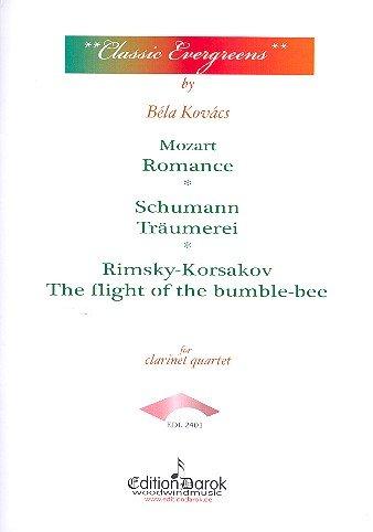 The World of Clarinets - Classic Evergreens für 4 Klarinetten