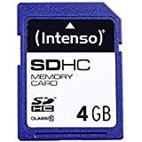 Intenso 3411450 Carte mémoire SDHC 4 Go Classe 10