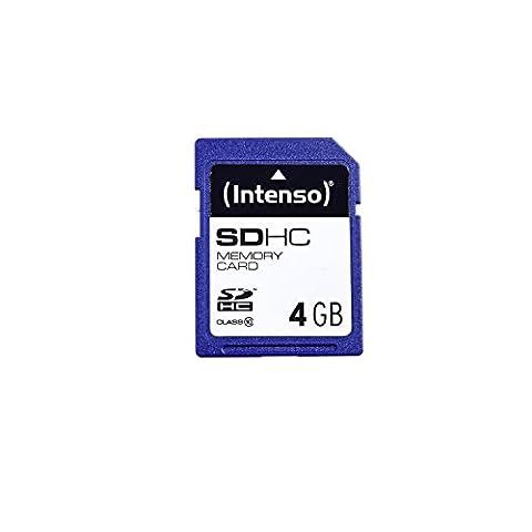 Intenso SDHC 4GB Class 10 Speicherkarte