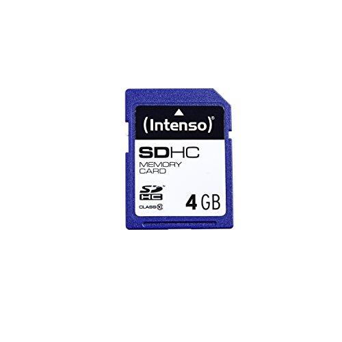 Intenso SDHC 4GB Class 10 Speicherkarte blau (Class 10 Sd-karte 4gb)