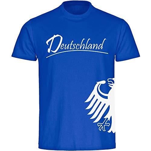 Multi Fan Shop Camiseta de Alemania Camiseta Águila lateral para hombre color blanco Talla S-5x...