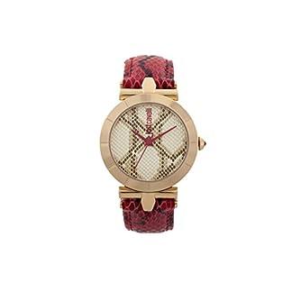 Just Cavalli Reloj Analógico para Mujer de Cuarzo con Correa en Cuero JC1L005L0035