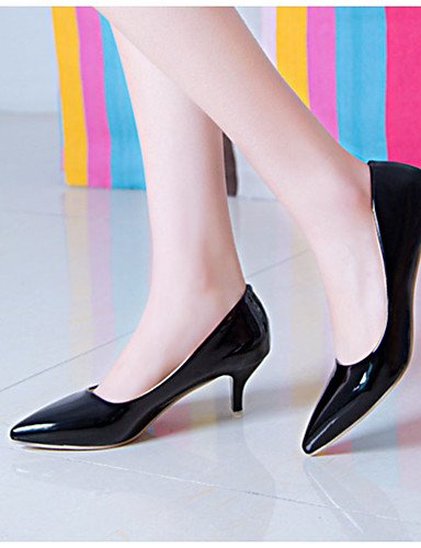 WSS 2016 Chaussures Femme-Décontracté-Noir / Rouge / Blanc-Talon Aiguille-Talons-Chaussures à Talons-Polyuréthane white-us7.5 / eu38 / uk5.5 / cn38
