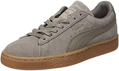 Puma SUEDE CLASSIC CITI Chaussures Mode Sneakers Homme gris - Chaussures Baskets basses Homme