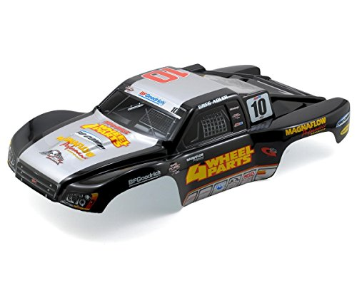 Traxxas 6818 Pre-Painted Slash 4x4 Body, Greg Adler 4 Wheel Parts (Pre-painted Kit)