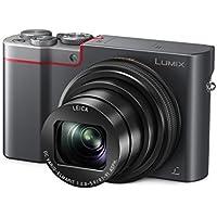 Panasonic LUMIX DMC-TZ101EGS Travellerzoom Kamera (20,1 Megapixel, LEICA Objektiv mit 10x opt. Zoom, 4K Foto und Video, Sucher, 3-Zoll Touch LCD) Dunkelgrau