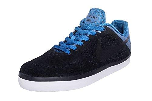 Nike SB Paul Rodriguez les maladies des tissus conjonctifs LR Sac à chaussures-Noir/Noir/Bleu Bleu