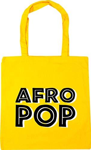 HippoWarehouse Afro Pop Bolso de Playa Bolsa Compra Con Asas para gimnasio...