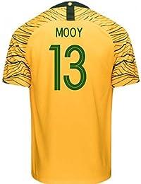 2018-2019 Australia Home Nike Football Soccer T-Shirt Camiseta (Aaron Mooy 13