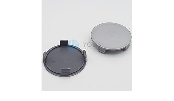 silber 5 x Nabenkappen Nabendeckel Felgendeckel 70,0-67,0 mm