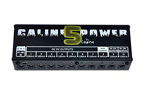 paleo-caline-cp-05-guitar-effect-pedals-power-supply-8-way-dc-9v-1-way-dc-12v-1-way-18v