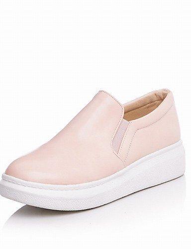 ShangYi gyht Scarpe Donna - Ballerine / Mocassini - Ufficio e lavoro / Formale / Casual - Punta arrotondata - Plateau - Finta pelle - Nero / Blu / Rosa Pink