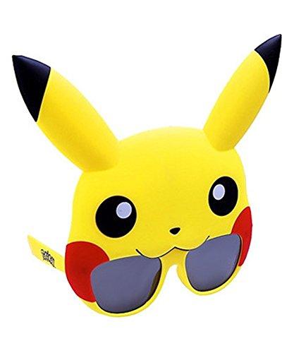 sun-staches–Pokémon Pikachu Sonnenbrille Unisex (Pikachu Kostüm Tragen)
