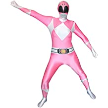 Disfraz de Power Ranger Rosa Morphsuit - S
