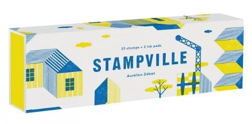 Stampville: 25 Stamps + 2 Ink Pads par Aurelian Debat