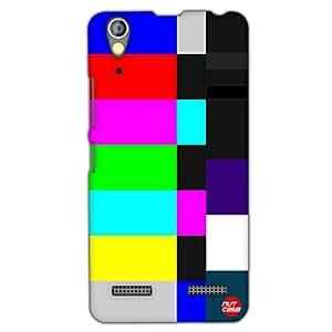 Designer Lenovo A6000 Plus Case Cover Nutcase -NTSC TV Test Card