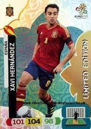 Euro 2012 Adrenalyn XL Limited Edition card Xavi Hernandez segunda mano  Se entrega en toda España