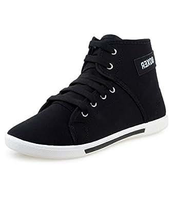 Klc Comfort Men's Black Sneakers(6 M Uk/Ind.)