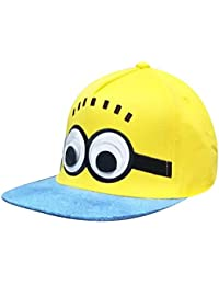 Zacharias Boy's and Girl's Cotton Animated Cartoon Adjustable Cap (Multicolour; 3-10 Years)