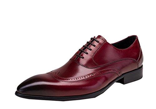 Allen Edmonds Loafer (Dilize , Herren Schnürhalbschuhe, rot - burgunderfarben - Größe: 44)