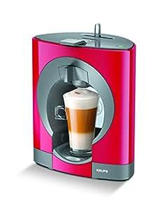 NESCAFÉ DOLCE GUSTO Oblo KP1105 Macchina per Caffè Espresso e altre bevande Manuale Dark Red di Krups