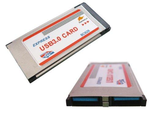Kalea Informatique Controller Karte (Express Card, 34mm, 2Ports USB 3.0)