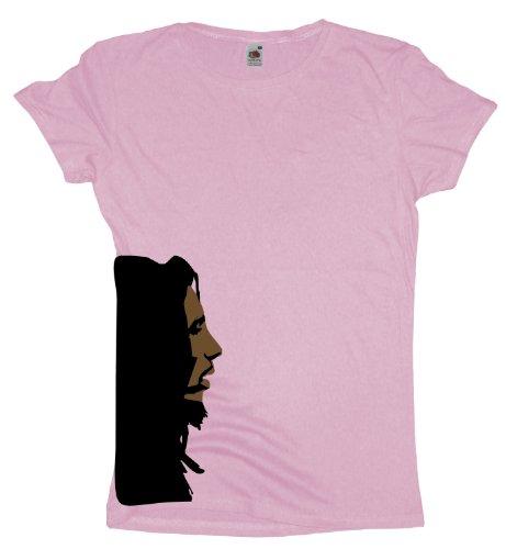 Ma2ca - Marley Head - Damen Girlie T-Shirt Lightpink
