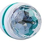 Full Color LED Crystal Voice-activated Rotating Stage Light DJ Lamp Light Bulb Stage Lighting - 2724284616709