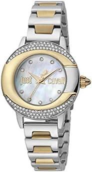 Just Cavalli Glam Chic JC1L150M0085 Women's Quartz Watch in Stainless Steel Pl