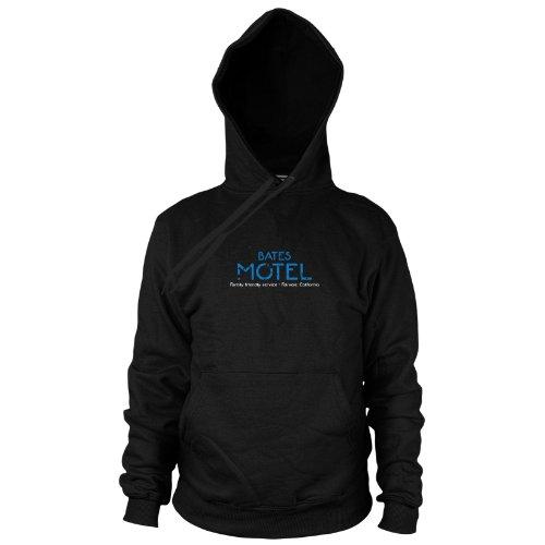 Hooded Sweater, Größe: M, Farbe: schwarz (Hitchcock Psycho Kostüm)