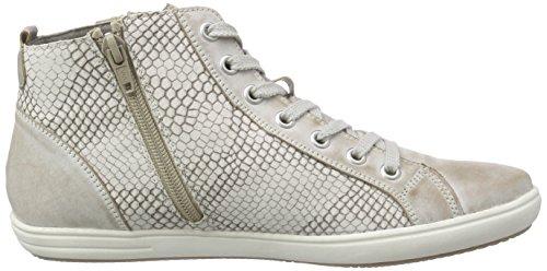 Remonte D9190, Sneakers Hautes Femme, Beige (Steel/kiesel/steel/42), 41 EU