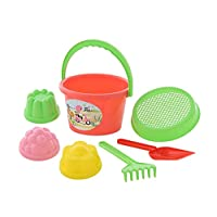 Polesie 1023 11 Sieve 3 Forms Small Shovel No. 1 Rake No. 1 -Sets: Bucket, Medium, Multi Colour