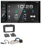 caraudio24 Kenwood DDX4019DAB USB DVD DAB MP3 Bluetooth 2DIN Autoradio für Kia Sorento (UM ab 2015)