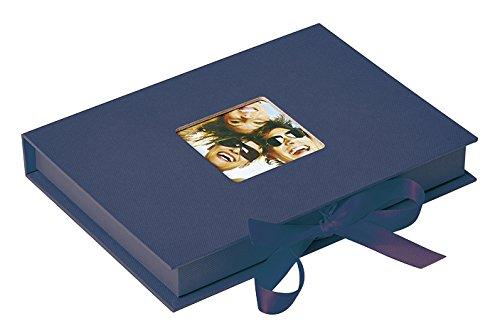 Walther Foto-Geschenkbox Fun, blau, für Fotos bis Format 13X18 cm